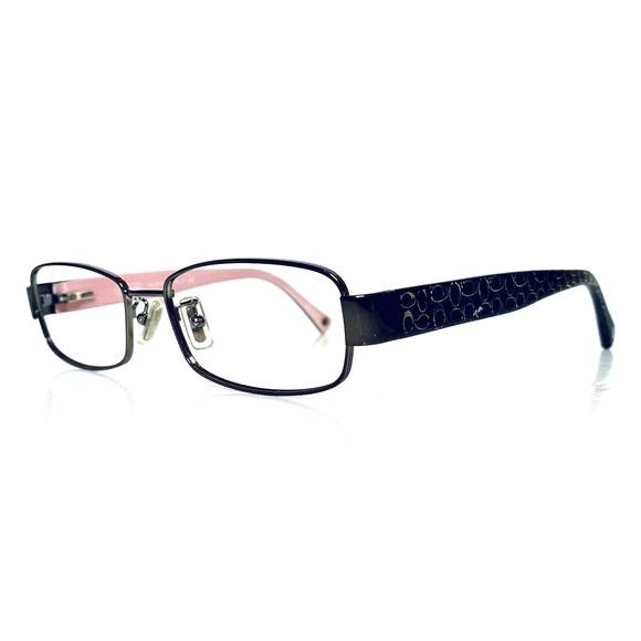 Coach Silver Frame Glasses